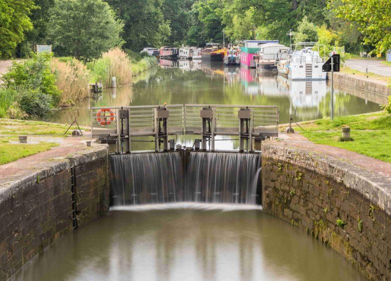 Canal du Midi écluse Gardouch © Maxime Joulot