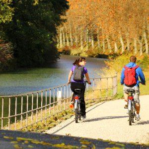 Canal du Midi bike