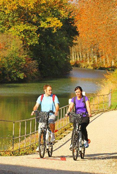 Canal du Midi à vélo 4 © C.Deschamps