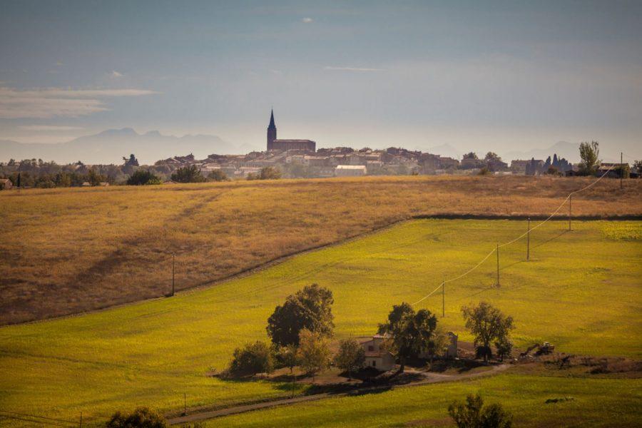 Ruta de los paisajes de Lauragais