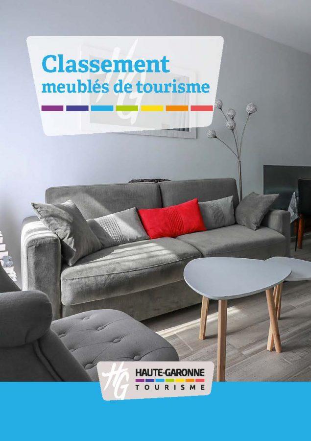 Clasificación de los alojamientos turísticos amueblados en Haute-Garonne