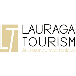 Logo Lauragais Tourisme doré