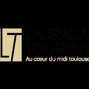 Lauragais Tourisme golden logo