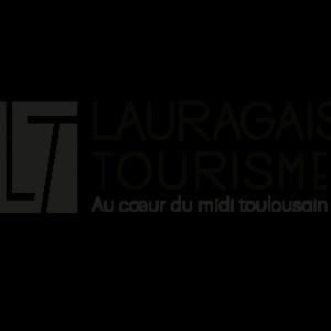 Lauragais Tourisme logo black