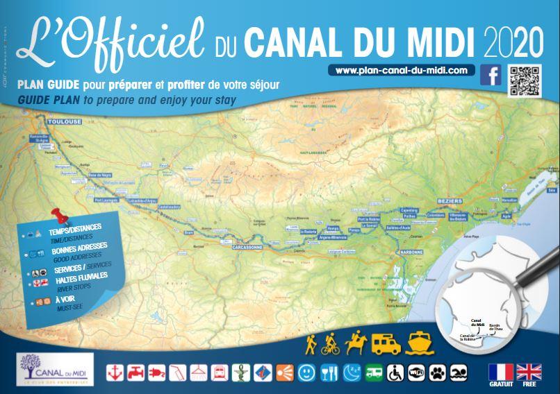 L'Officiel du canal du Midi 2020