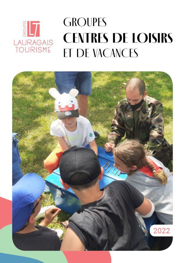 Brochure Groupes Centres de loisirs et de vacances