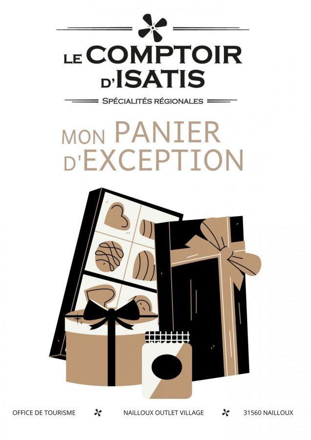 Comptoir d'Isatis Paniers cadeaux 2021