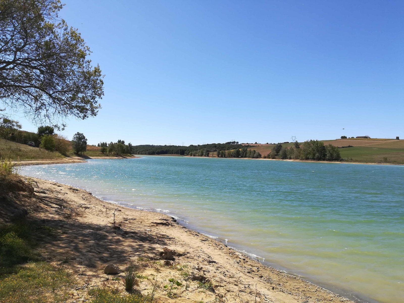 Bourg Saint Bernad Lac pêche © Lauragais Tourisme