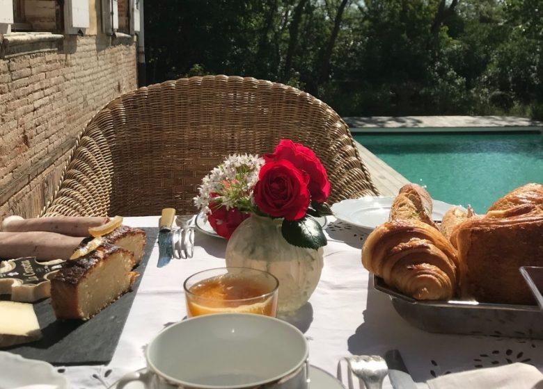 Desayuno sugerencia Domaine de Montgay