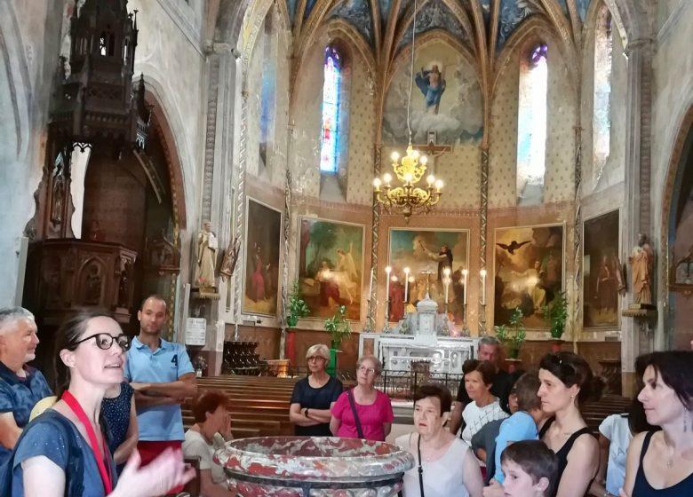 Visite guidée de l'église