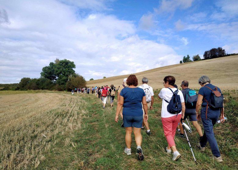 Caminata hugonotes Gibel Calmont Mazères 13 © Lauragais Tourisme
