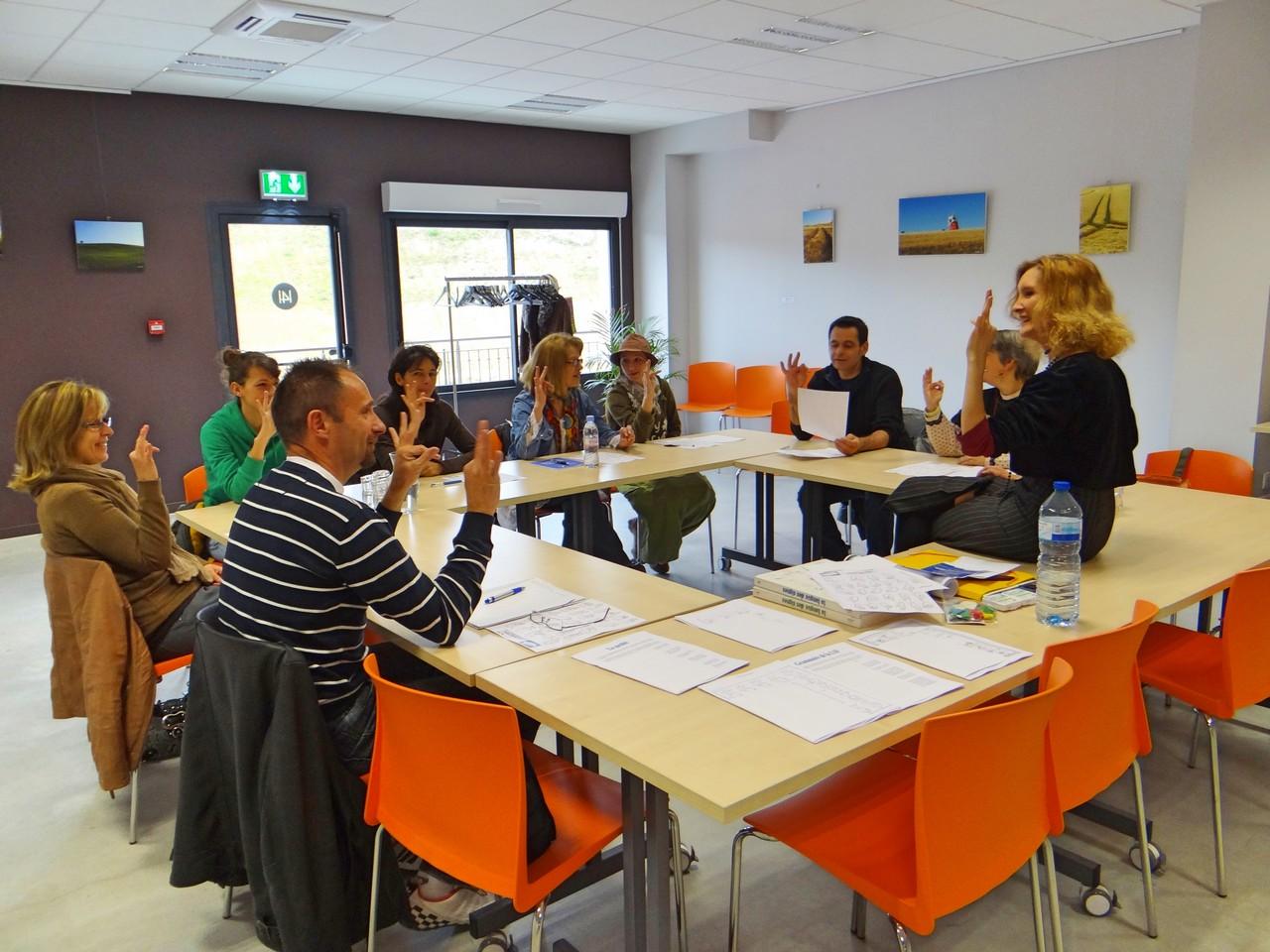 Stage LSF séminaire © Lauragais Tourisme