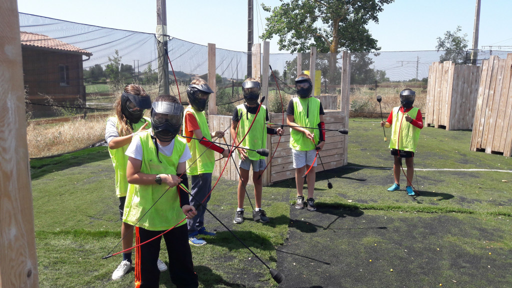 Zone Evasion archery tag ados