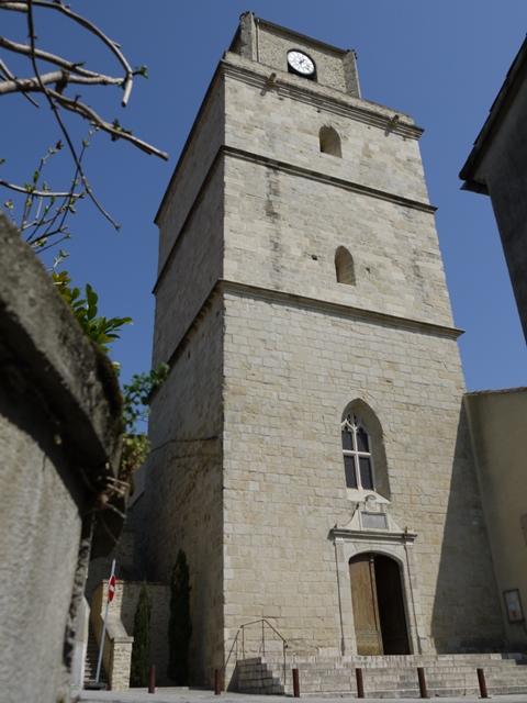 clocher Auriac